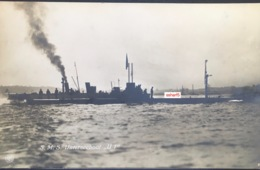 GERMAN SUBMARINE WWI S.M.S. UNTERSEEBOOT U1 Real Photo C. 1914 Sousmarin - Sous-marins