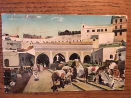 CPA, TANGER, LA DOUANE, éd Collection Idéale ALGER, Cachet Ministère De La Guerre - Tanger