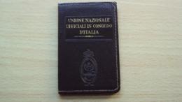 TESSERA DELL'UNIONE UFFICIALI IN CONGEDO TRIESTE - Vecchi Documenti
