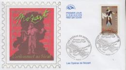 Enveloppe  FDC  1er  Jour   FRANCE     Les  Opéras  De  MOZART    2006 - 2000-2009