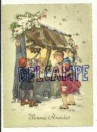 Bonne Année. Enfants, Marché De Noël, ...1963 - Nieuwjaar