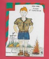 EPINAY Sur SEINE Illusrateur Jean Luc Perrigault .Scoutismes. - Autres Communes