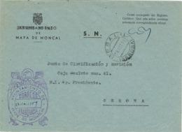 34000. Carta S.N. Franquicia Ayuntamiento MAYA De MONCAL (Gerona) 1959 - 1931-Hoy: 2ª República - ... Juan Carlos I