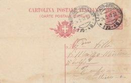 Lanciano. 1917. Annullo Frazionario LANCIANO - ARR E PART ( 19 - 48 ), Su Cartolina Postale Completa Di Testo - Poststempel