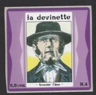 Etiquette De Bière   -  La Devinette  - Brasserie Des Vosges  à  Saint Etienne Remiremont  (88) - Birra
