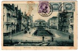 OSTENDE - Le Kursaal Et L'Avenue Léopold En Fleurs - Oostende