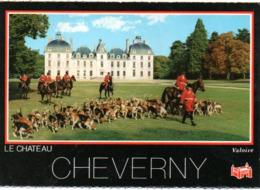 CHEVERNY (41) : Les Piqueux Et Al Meute - Cheverny