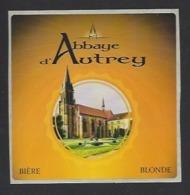 Etiquette De Bière   -  Abbaye D'autrey  - Brasserie Des Vosges  à  Saint Etienne Remiremont  (88) - Bier
