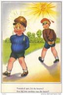 Carte Postale Humour   Douane Douanier  Trés Beau Plan - Dogana
