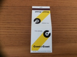 Pochette D'allumettes ETATS UNIS «Coast To Coast» - Boites D'allumettes