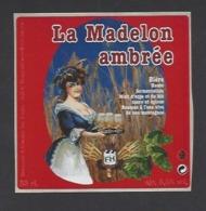 Etiquette De Bière Ambrée  -  La Madelon  - Brasserie Des Vosges  à  Saint Etienne Remiremont  (88) - Beer