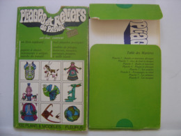 ORIGAMI  Pliages Et Reliefs De Papier Fleurus Idées Broché 1974 COMPLET - Unclassified