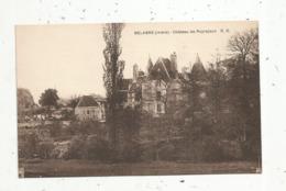 Cp , 36 , BELABRE , Château De PUYRAJOUX ,vierge - Francia