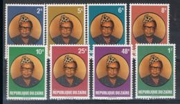 N° 950/57  XX  MNH - Zaire