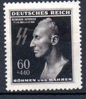 BOHEME ET MORAVIE - 1943: Anniv. De La Mort De Heydrich -  N° 110** - Bohemia & Moravia