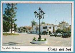 Fiat Uno Regata Ford Fiesta XR2 - SAN PEDRO ALCANTARA - Hotel Cortijo Blanco - Voitures De Tourisme
