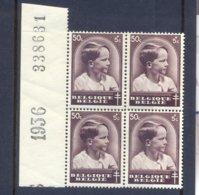 Nr. 441-V  Postgaaf ** MNH Spijker Achter Hoofd - Errors (Catalogue COB)