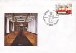 SLOVENIE : 2001 - FDC - Trawway - Slovénie