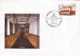 SLOVENIE : 2001 - FDC - Trawway - Eslovenia