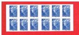FRANCE - 2008 - CARNET N° 4201-C1 -  NEUF** NON PLIE -  Marianne De BEAUJARD - EUROPE - TVP -Bleu-Y&T- COTE: 33.00 Euros - Definitives