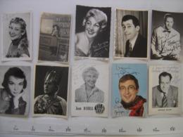 Lot 8 PHOTO Artistes Varietes Theatre Opera Spectacle Cabaret Music Hall DIJON - Célébrités