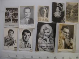 Lot 9 PHOTO Artistes Varietes Theatre Opera Spectacle Cabaret Music Hall DIJON - Berühmtheiten