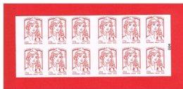 FRANCE - 2015 - CARNET N° 851-C17 - NEUF** NON PLIE -  Marianne De CIAPPA Et KAWENA - TVP - Y&T - COTE : 25.00 Euros - Definitives