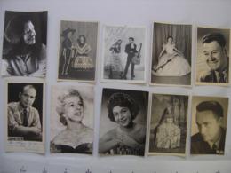 Lot 11 PHOTO Artistes Varietes Theatre Opera Spectacle Cabaret Music Hall DIJON - Berühmtheiten