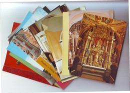 POSTCARDS Sacral Lot 2,15 Pieces,mostly New - Cartes Postales