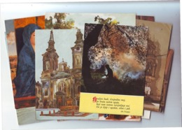POSTCARDS Sacral Lot 5,15 Pieces,mostly New - Postkaarten