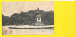 COCHINCHINE SAÏGON Statue De L'Amiral Rigault De Genouilly (Dieulefils) Viet-Nam - Viêt-Nam