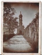 PHOTOGRAPHIE NOTRE DAME DE L'OSIER 38 ISÈRE CHAPELLE DE NOTRE-DAME DE BON RENCONTRE DATÉE DE SEPTEMBRE 1889 - Plaatsen
