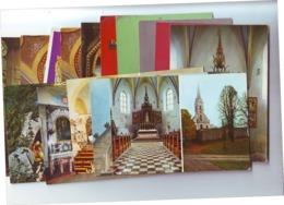 POSTCARDS Sacral Lot 10,15 Pieces,mostly New - Cartes Postales