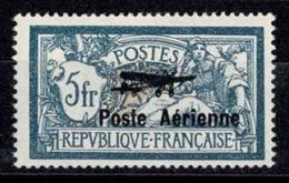 France Poste Aérienne 1927 - Salon International De L'aviation - YT N°2 - Neuf Trace De Charnière TB - Poste Aérienne