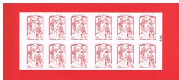 FRANCE - 2015 - CARNET N° 851-C14 - NEUF** NON PLIE -  Marianne De CIAPPA Et KAWENA - TVP - Y&T - COTE : 25.00 Euros - Definitives