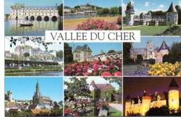 Vallée Du CHER (41)  Divers Châteaux - Vendome