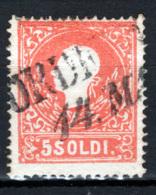 Lombardo Veneto 1859 Sass.30 O/Used VF/F - Lombardo-Veneto