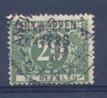 Nr. TX14A Met Naamstempel ANTWERPEN - Postage Due