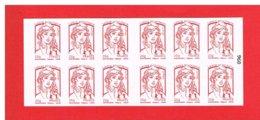 FRANCE - 2014 - CARNET N° 851-C12 - NEUF** NON PLIE -  Marianne De CIAPPA Et KAWENA - TVP - Y&T - COTE: 25.00 Euros - Definitives