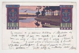 BB473 - ILLUSTRATION Ivan BILIBINE (Bilibin) RUSSIE - RUSSIA - Art Nouveau - Fairy Tale - 1907 - Bilibine