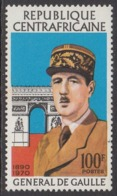 1971Central African Republic241Charles De Gaulle3,50 € - República Centroafricana