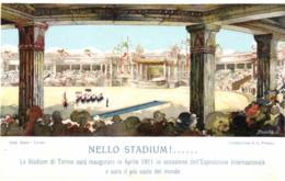 Italie - Piemonté - Torino - Le Stadium Sera Inauguré En Avril 1911 A L'Occasion De L'Exposition Internationale - C 9397 - Stadiums & Sporting Infrastructures
