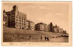 OSTENDE - Digue De Mer Depuis Le Majstic Palace Jusqu'au Kursaal - Oostende