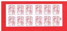 FRANCE - 2013 - CARNET N° 851-C6 - NEUF** NON PLIE -  Marianne De CIAPPA Et KAWENA - TVP - Y&T - COTE: 25.00 Euros - Definitives