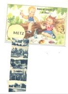 METZ - Pique-nique - Carte à Système (10 Vues ) (B262) - Metz