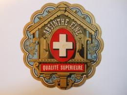 P135 - étiquette ABSINTHE FINE - QUALITE SUPERIEUR - Etiquettes