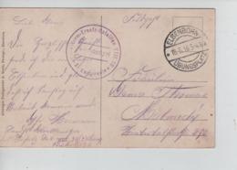PR7257/ CP Elsenborn En Feldpost C.Elsenborn 18/5/16 + C.Militaire > Malmedy - WW I
