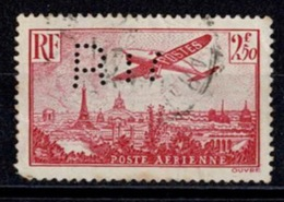 France Poste Aérienne 1936 - Avion Survolant Paris - YT N°11 - Oblitéré - Airmail