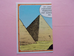 PANINI Astérix CARREFOUR N°90 Pyramide - Edition Française