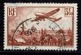 France Poste Aérienne 1936 - Avion Survolant Paris - YT N°13 - Oblitéré - Airmail